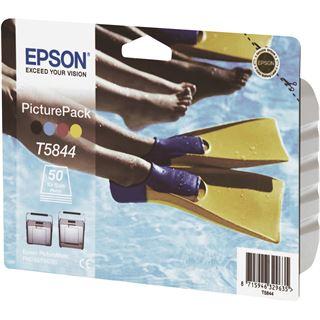 Epson Tinte C13T58444010 schwarz, cyan, magenta, gelb