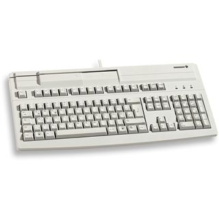 CHERRY G81-8000LPADE-0 PS/2 Deutsch grau (kabelgebunden)