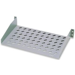 "19"" (48,26cm) INTELLINET Shelve 1U 485 x 250mm, RAL"