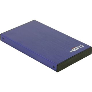 "Delock 42365 2.5"" (6,35cm) USB 2.0 blau"