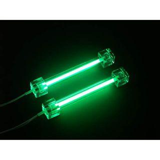 Sharkoon Luminous 2x CCFL grün 10cm Kaltlicht-Kathode für Gehäuse (4044951002382)