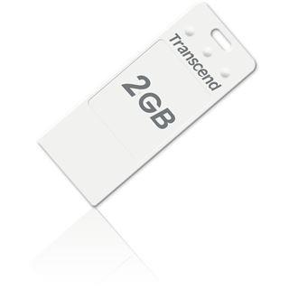 2GB Transcend JetFlash T3 Series Weiß USB 2.0 Stick