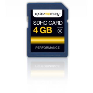 4 GB Extrememory Performance SDHC Class 6 Retail