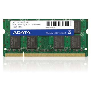 1GB ADATA Value DDR2-800 SO-DIMM CL5 Single