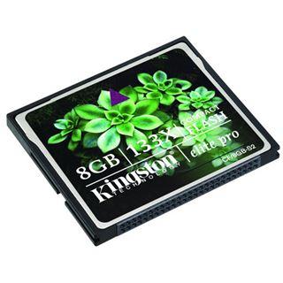 8 GB Kingston Elite Pro Compact Flash TypI 133x Bulk
