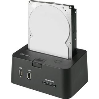 Sharkoon SATA Quickport Pro USB 2.0 Dockingstation für 2.5""