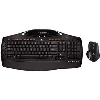 Logitech Cordless Desktop MX 5500 Revolution Tastatur+Maus Schwarz
