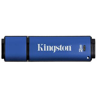2 GB Kingston DataTraveler Vault Privacy Edition blau USB 2.0