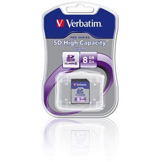 8 GB Verbatim Standard SDHC Class 6 Retail
