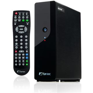 "3,5""(8,89cm) Fantec MM-HDRL Media Recorder SATA -> USB/LAN/HDMI Schwarz"