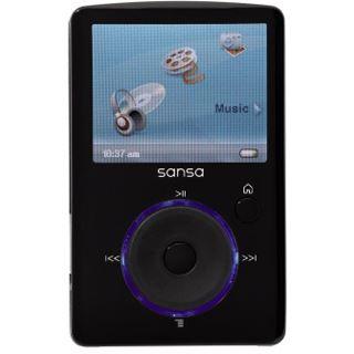 2GB SanDisk Sansa Fuze MP3 Player + Radio