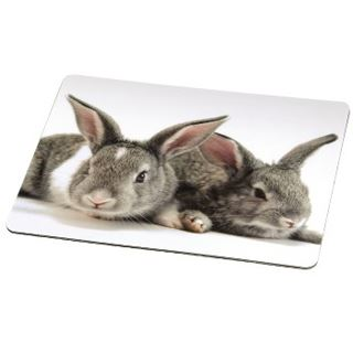 Hama Mauspad 50228 Silk Pad Hares Hase Design
