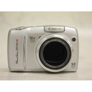 "Canon PowerShot SX110 IS 10x opti. Zoom 3,0"" LCD Silber"