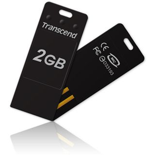 2 GB Transcend JetFlash T3 schwarz USB 2.0