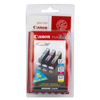 Canon Tinte CLI-521 Multipack 2934B007 cyan/magenta/gelb