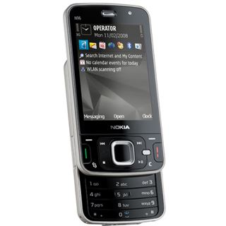 Nokia N96, dark grey