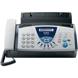 Brother FAX-T104 Thermotransfer Faxen