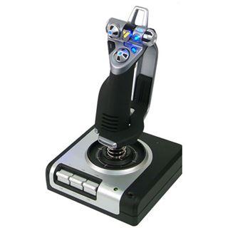 Saitek X52 Flight Control System inklusive Schubregler USB schwarz/grau PC