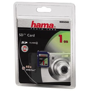 1GB Hama 00056940 Secure Digital (SD) Class 2 Karte