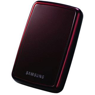 "250GB Samsung S2 Portable 2.5"" (6.35cm) Rot USB 2.0"