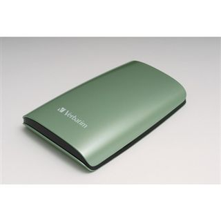 320GB Verbatim Portable Hard Drive USB 2.0 grün
