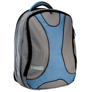 "Ultron Notebook Rucksack ultron-techair 3707 15,4"" (39,12cm) grau hellblau"