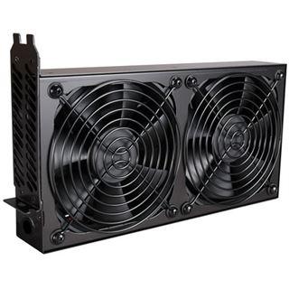 Lian Li PCI Cooling Kit schwarz 2x 120mm Lüfter für