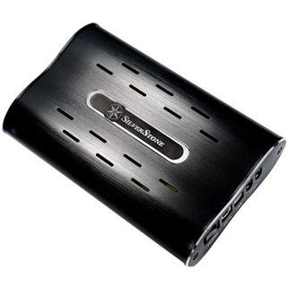 "3,5""(8,89cm) Silverstone SST-MS04S IDE -> USB/ Firewire Aluminium"