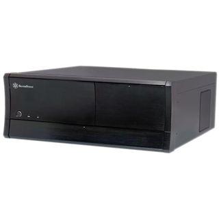 Silverstone Grandia GD01B Desktop ohne Netzteil schwarz