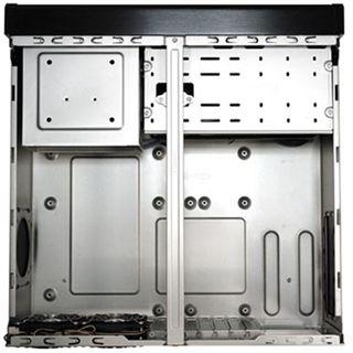 Silverstone Grandia GD01B-MX Desktop ohne Netzteil schwarz