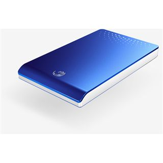 320GB Seagate FreeAgent Go 5400 extern blue