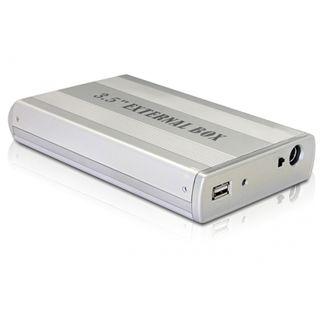 "Delock 42371 3.5"" (8,89cm) USB 2.0 silber"