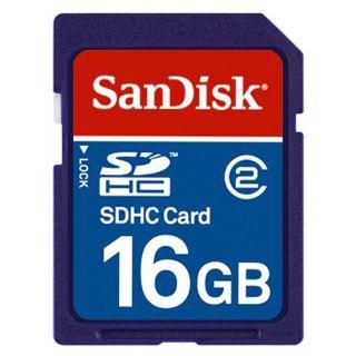 16 GB SanDisk SDSDB-016G-E11 SDHC Class 2 Retail