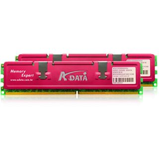 4GB ADATA XPG + Series DDR3-1333 DIMM CL7 Dual Kit