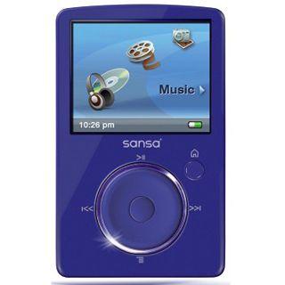 4GB Sandisk SANSA FUZE BLAU