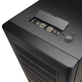 ATX Lian Li PC-9B Alu Midi Tower o.NT Schwarz