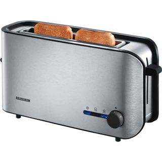 Severin Automatik-Toaster AT 2596 alu-sw