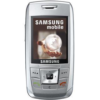 Samsung SGH-E250i Silber