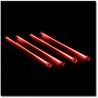 Sharkoon 4x rote Kaltlicht-Kathode für Gehäuse (SK-0036)