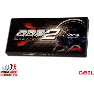 4GB GeIL Ultra Plus DDR2-1066 DIMM CL5 Dual Kit