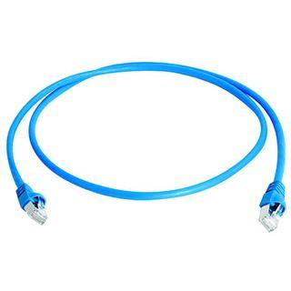(€2,18*/1m) 5.00m Telegärtner Cat. 7 Patchkabel S/FTP RJ45 Stecker auf RJ45 Stecker Blau
