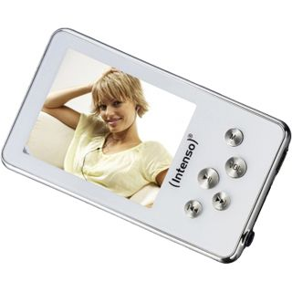 "4GB Intenso Video Driver 2"" (5.1cm) weiß MP3/MP4"