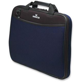 "Manhattan Notebook Sleeve Premium 15.4"" (39,12cm) dunkelblau"