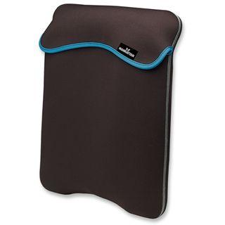 """Manhattan Notebook Sleeve 15.4"""" (39,12cm) schwarz grau"""