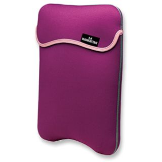 Manhattan Notebook Sleeve 9.0 reversibel purple/cream