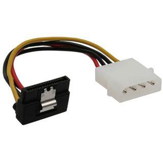 """InLine SATA Stromadapterkabel, , 1x 5,25"""" Bu an 15pin SATA St, nach unten abgewinkelt"""