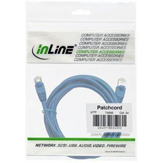InLine Patchkabel, UTP, Cat.5e, 50m blau