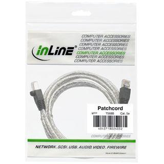 (€0,60*/1m) 20.00m InLine Cat. 6 Patchkabel S/FTP PiMF RJ45 Stecker auf RJ45 Stecker Transparent halogenfrei / Kupfer