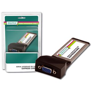 Digitus Serial I/O, 2-Port, ExpressCard Add-On