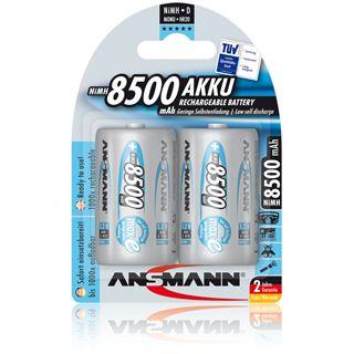 ANSMANN maxE D / Mono Nickel-Metall-Hydrid 8500 mAh 2er Pack